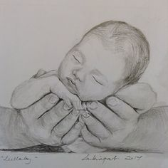 'Lullaby' in graphite pencils