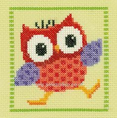 Shop online for Red Owl Cross Stitch Kit at sewandso.co.uk. Browse our great range of cross stitch and needlecraft products, in stock, with great prices and fast delivery.