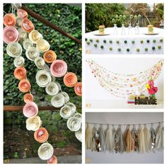 Garland for a chic & sophisticated fete Etsy shops: lillesyster Fairyfolk MaraMay Baca StudioM. Garland, Festive, Etsy Shop, Garlands, Floral Crowns