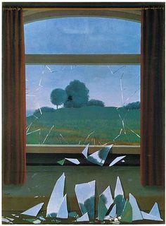 La fenêtre comme cadre et ouverture sur le paysage - Magritte