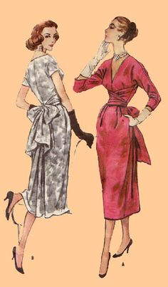 Plus-Size Vintage Sewing Vintage Dress Patterns, Vintage Dresses, Vintage Outfits, Skirt Patterns, Coat Patterns, Blouse Patterns, Fashion Moda, 1940s Fashion, Vintage Fashion