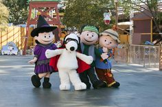 Snoopy's Trick-or-Treat Festival begins this Saturday, Oct. 4. Little ones can show off their costumes as they trick-or-treat along with Snoopy, Charlie Brown, and the rest of the PEANUTS gang. Other fun activities include a fun Hay Maze, Mini Pumpkin Decorating, Foam-Tastic pumpkin patch and a Bubble zone!
