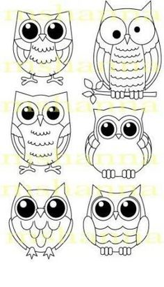16 Trendy how to draw an owl fun - Eule Owl Patterns, Embroidery Patterns, Ribbon Embroidery, Machine Embroidery, Art Projects, Sewing Projects, Owl Crafts, Owl Art, Cute Owl