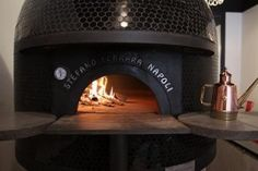 Stefano Ferrara wood burning pizza oven