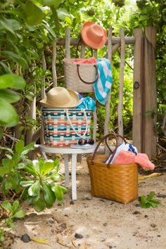 Beach Bash with our favorite Boardwalk Baskets