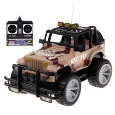 Radio Control RC Off-road Car Model Toy 6846 Camouflage