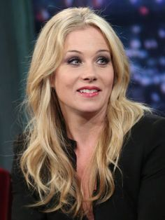 Christina Applegate From Old Married With Children Tv Show with her flowing and golden locks.