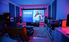 This is what a gamer called paradise. ___________________________________________________ For more Gaming Related Content Visit===>>> ___________________________________________________ Best Gaming Setup, Gaming Room Setup, Pc Setup, Desk Setup, Dining Room Colour Schemes, Video Game Rooms, Game Room Design, Gamer Room, Room Additions