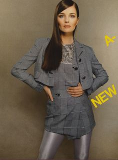 "Paulina Porizkova "" Modern Style"" by Steven Meisel Vogue Italia March 1994"
