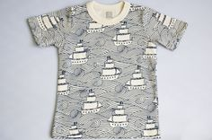 sail boat tee for kids