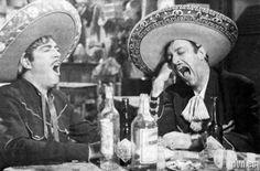 Luis Aguilar y Jorge Negrete y el Tequila