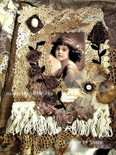 Suziqu's Threadworks: Friendship Lacebook of Collages and Tags