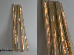 Caroline Linder: Futuristic Wooden Panels Take You To The Future