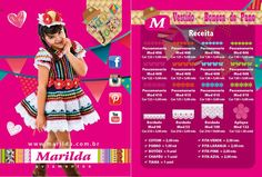 vestidos festa junina croche Marilda - Pesquisa Google