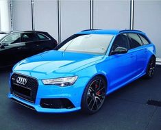 Does this blue suit the RS6? #AudiRS6 oooo @rs.vida oooo #audidriven - a 'state…