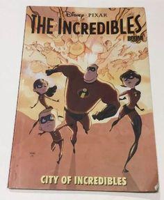 Boom Comics Disney/Pixar The Incredibles Graphic Novel/TPB City of Incredibles  | eBay