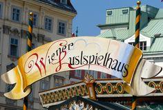 Wiener Lustspielhaus sign, Vienna, Austria