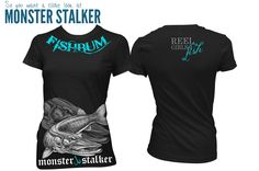 Fishing-Clothing-FISHBUM-Ladies-Monster-Stalker-Musky-Fishing-Pike-FIshing