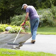 We'll show you how to clean and prepare the driveway so you get the longest life and best protection from driveway sealer.