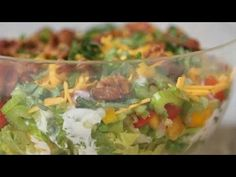 Easy, Healthy Seven Layer Salad Recipe