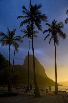 Vista da Praia Vermelha para o Pao de Açúcar - Rio de Janeiro/RJ - Brasil Most Beautiful Cities, Beautiful World, Rio Brazil, Wonders Of The World, South America, Places To Go, Wildlife, Quilt, Scene