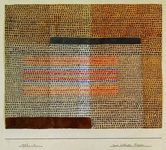 Paul Klee (Swiss:1879-1940), Two emphasized layers (Zwei betonte lagen),1932