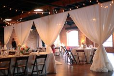 Nashville Weddings Transformed Using Thoughtful Draping for Both Ceremony & Reception | Nashville Wedding Guide for Brides, Grooms - Ashley's Bride Guide