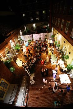 Courtyard Celebration Bellwether Events The Alexandrian Weddings