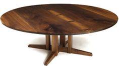 large Nakashima dining/conference table, 1971