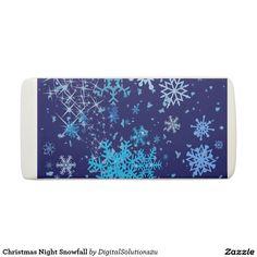 Christmas Night Snowfall Eraser