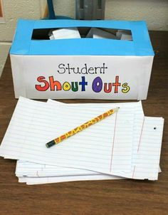 A way to recognise students' positive behaviour from their peers