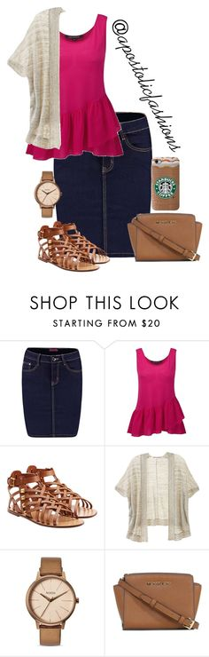 """Apostolic Fashions #1286"" by apostolicfashions on Polyvore featuring Boohoo, French Connection, Valentino, Victoria's Secret, Nixon and Michael Kors"