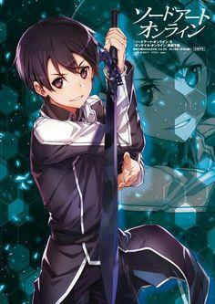 Kirito | Sword Art Online Alicization Manga Anime, Sao Anime, Anime Guys, Anime Male, Kirito Kirigaya, Kirito Asuna, Kirito Sword, Sword Art Online Kirito, Online Anime