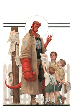 Hellboy and the B.P.R.D.: 1953—Beyond the Fences #1 - Cover by Paolo Rivera