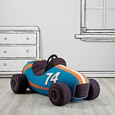 Grandest Prix Plush Speedster (Blue)  | The Land of Nod