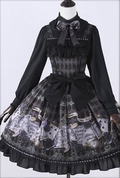 Ista Mori ~Ace & Alice~ Lolita Jumper Dress - My Lolita Dress