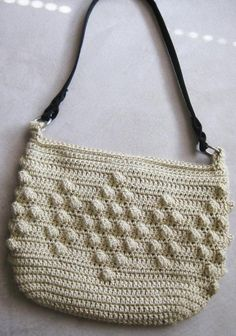 Popcorn Purse by kickincrochet | Crocheting Pattern - Looking for your next project? You're going to love Popcorn Purse by designer kickincrochet. - via @Craftsy