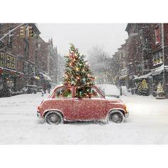 City Christmas by Avanti Press #Christmas_Cards