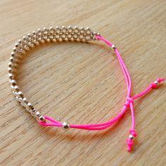 """""""Bracelets & manchettes, Forest / Bracelet Argent 925 - Pink est une création orginale de NatashaR sur DaWanda"""