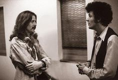 Eric Clapton and Mike Bloomfield, Feb 1968