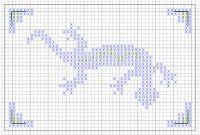 Gecko Cross Stitch Pattern Chart