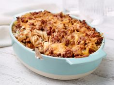 Sour Cream Noodle Bake recipe from Ree Drummond via Food Network