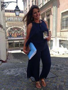 """Sofia Fernandes: """"Globos de Ouro já começaram para nós! Emissão especial na SIC CARAS, em direto do Coliseu!!!"""" #globosdeouro"""
