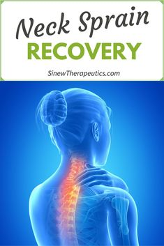 Neck Pain Recovery - Stiffness and decreased mobility are due to spasms in tendons and ligaments that have contracted reflexively beyond their normal range from the impact of the injury. Learn more at SinewTherapeutics. Neck Sprain, Neck Injury, Neck Pain Treatment, Sore Neck, Stiff Neck, Neck Pain Relief, Medical Advice, Get In Shape, Back Pain