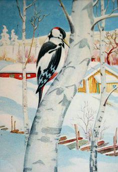 Julekort Otto Mølbach brukt 1942 Utg Damm