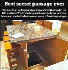 Secret Passage/Cellar/Storm Shelter....