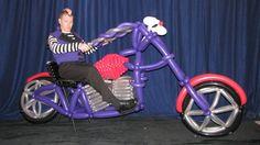 A huge balloon motorcycle! Smash Party Entertainment NY