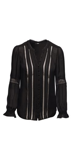 Paige Annalise Blouse in Black / Manage Products / Catalog / Magento Admin
