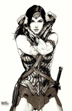 Awesome Batman V Superman: Dawn Of Justice Artwork Of Gal Gadots Wonder Woman