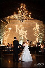 In my dreams we would have a lighted monogram on the wall. (Briscoe Manor)